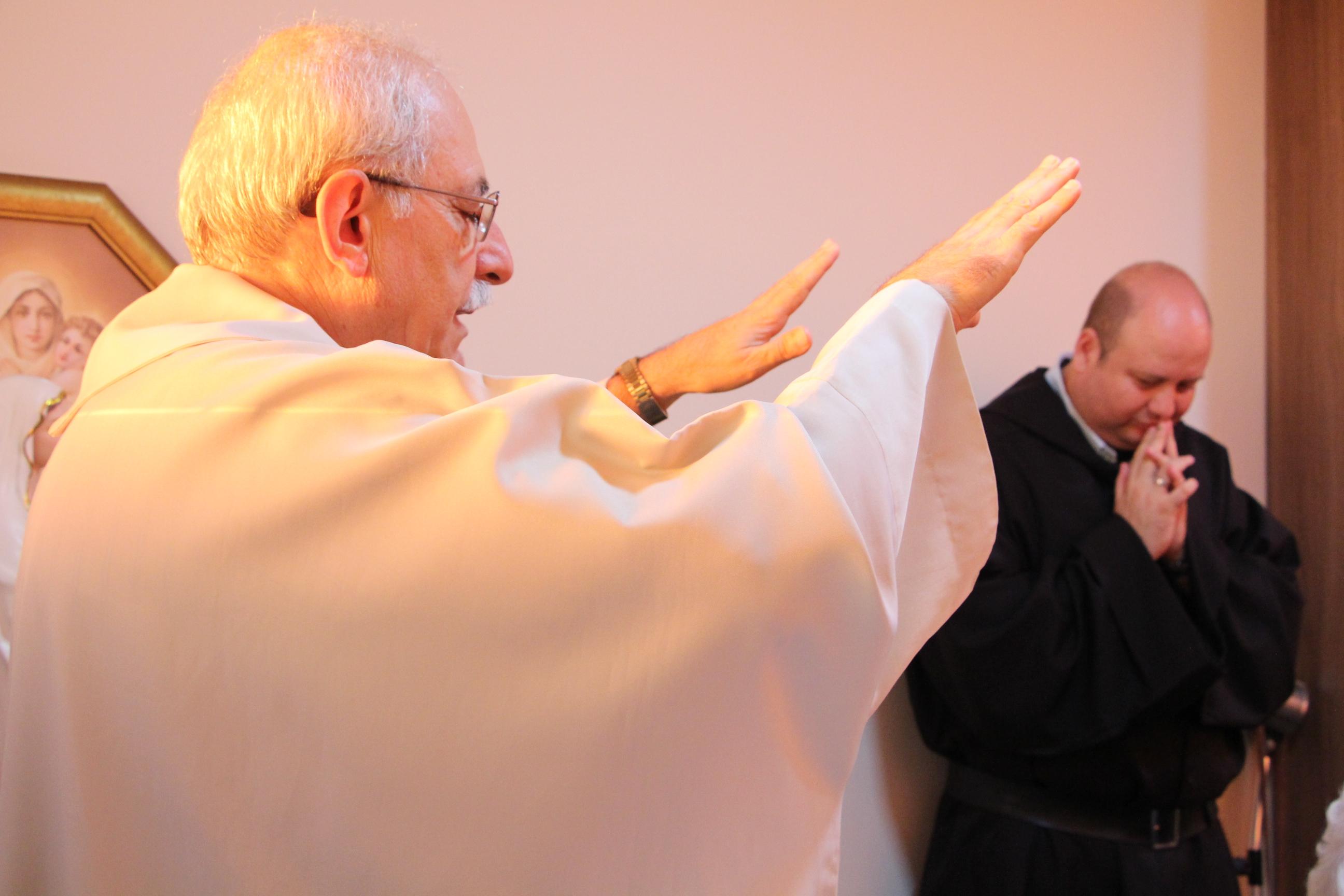 Missa em comemoração ao primeiro ano de atividades do Frei Roger