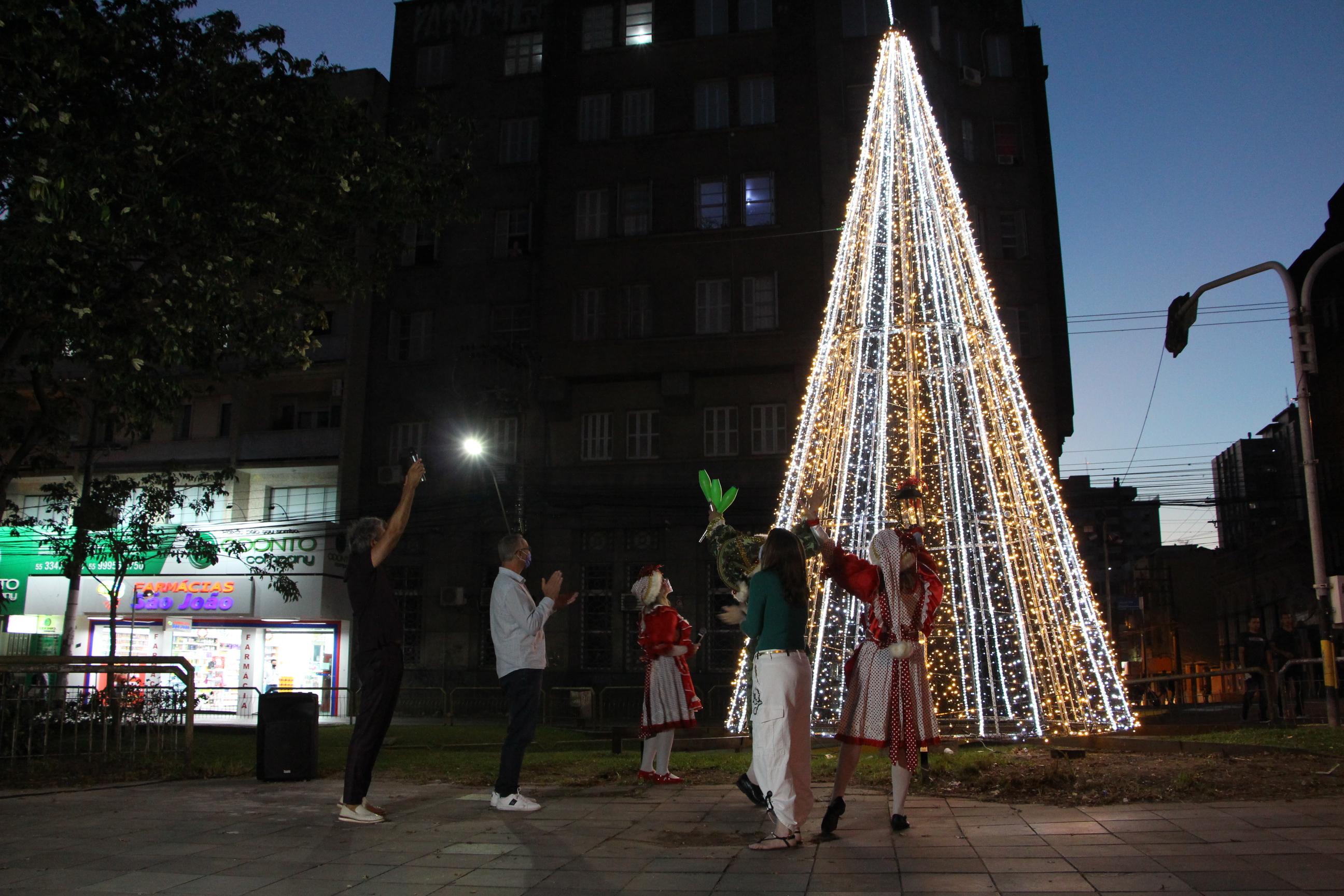 O Natal chegou com Amor e muita luz em Santa Maria!