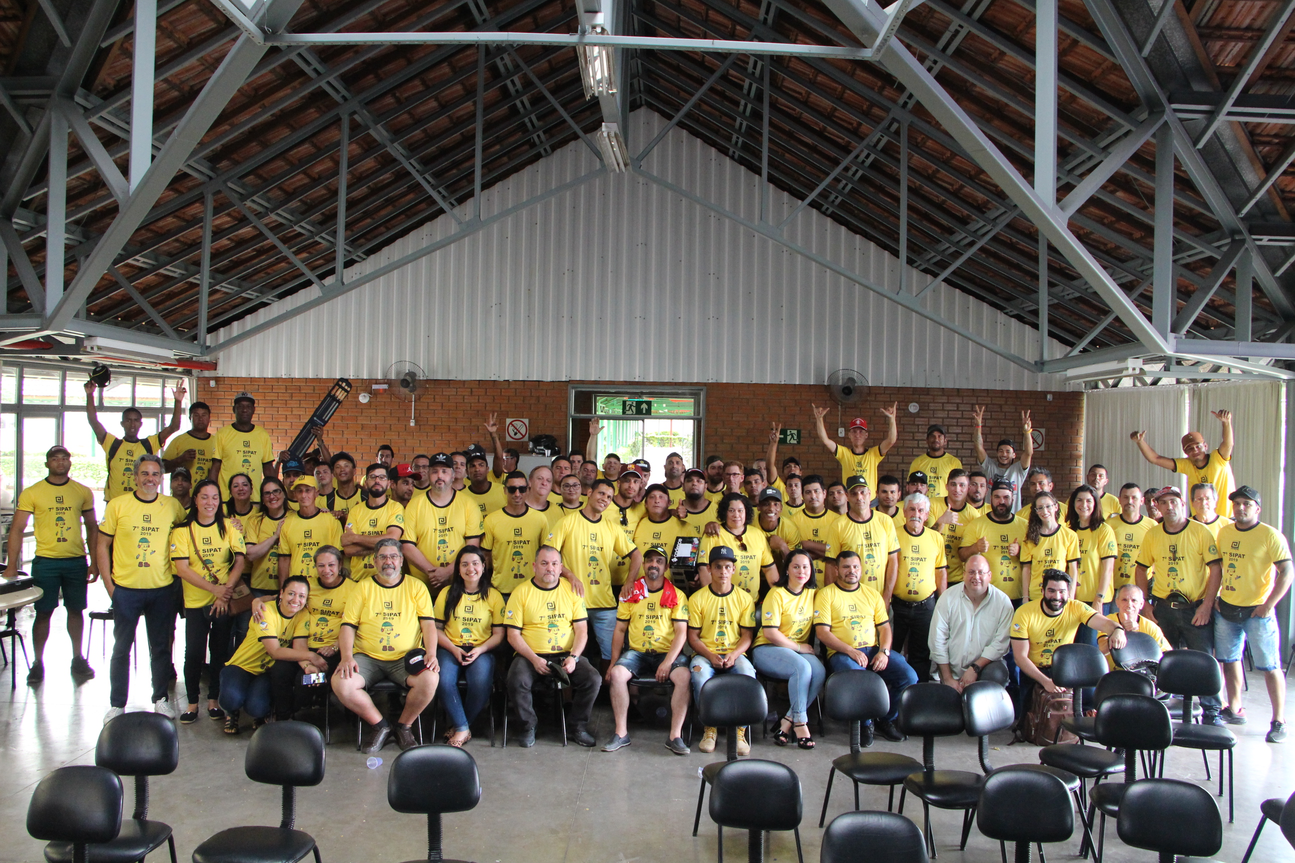 7ª Semana Interna de Prevenção a Acidentes de Trabalho (Sipat) da Construtora Jobim.