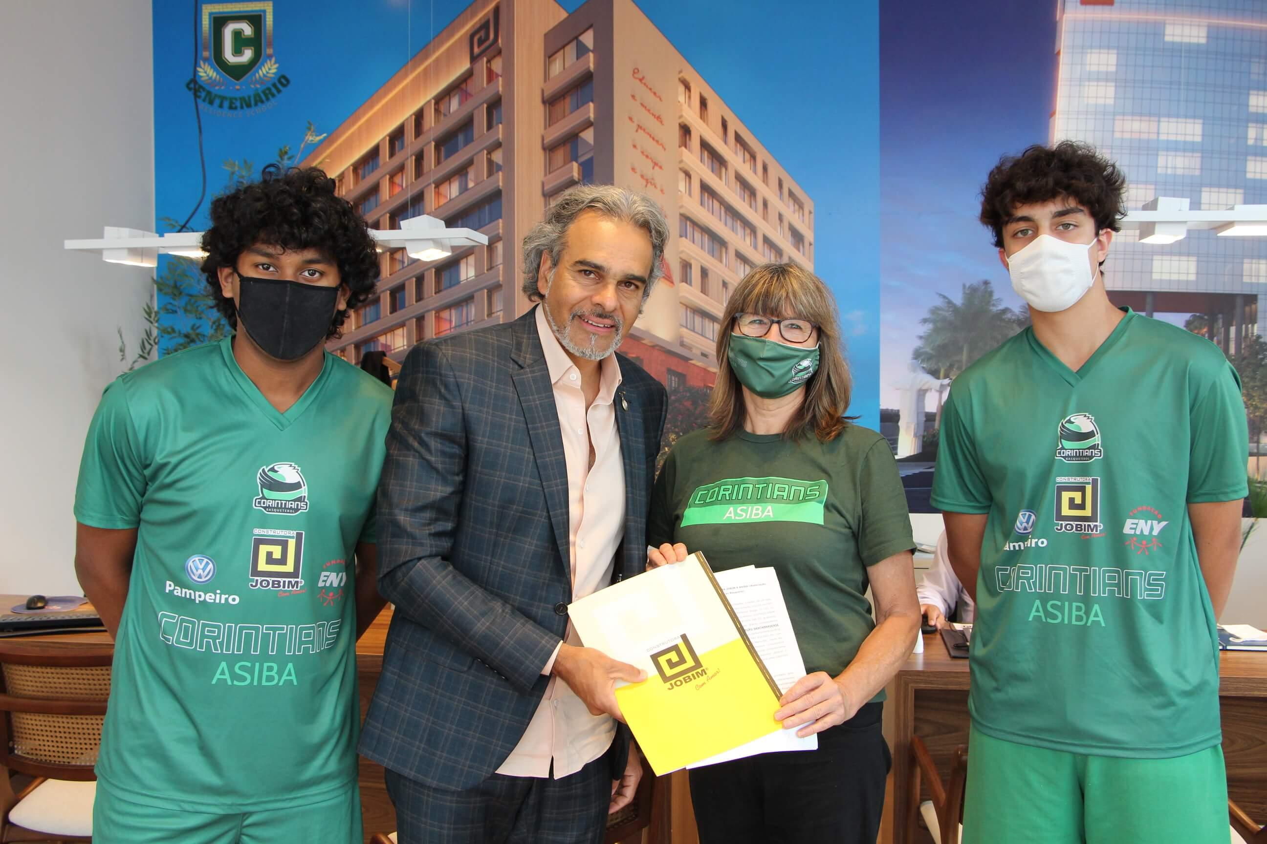 Construtora renova o contrato de apoio esportivo com o Basquetebol de Santa Maria
