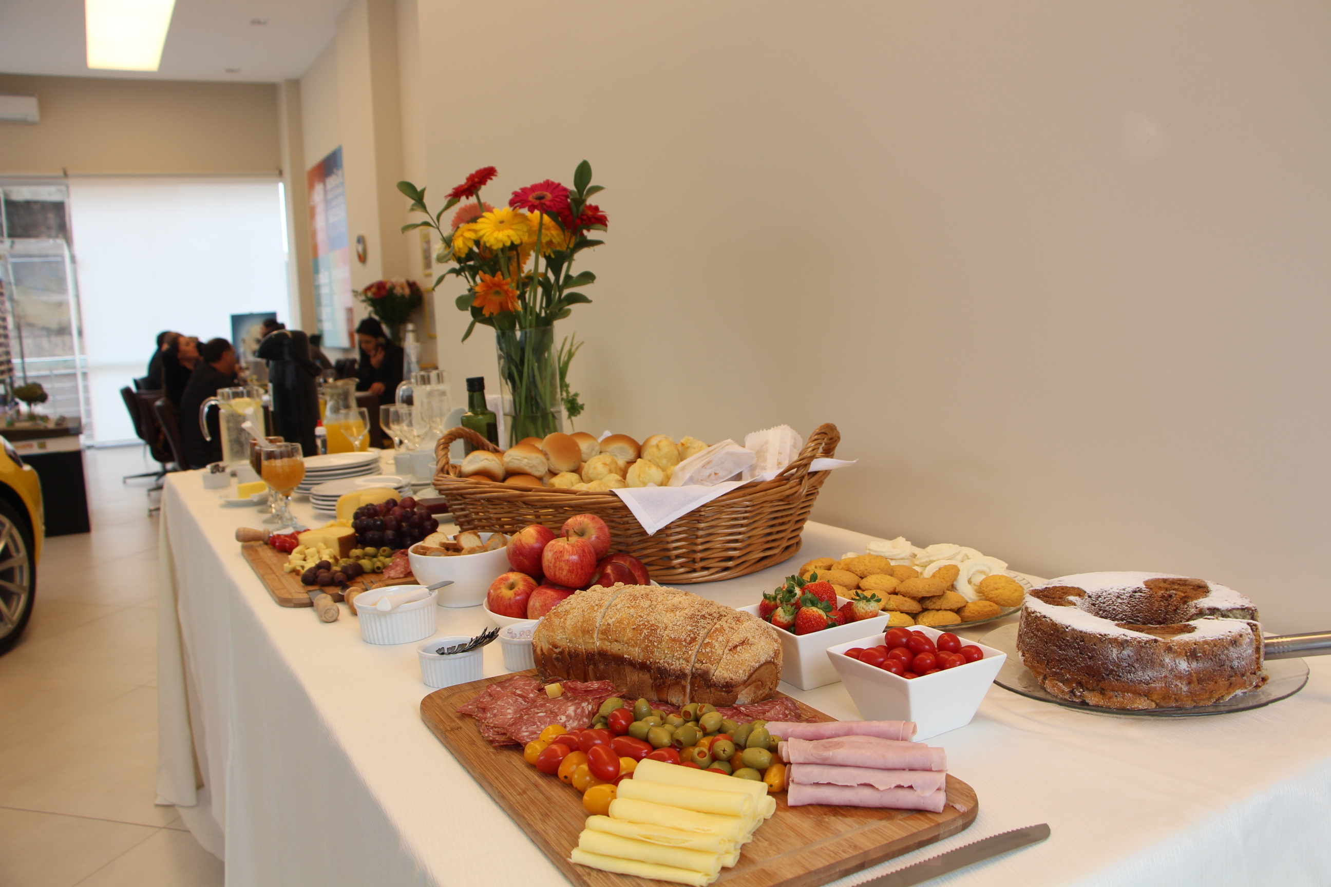 Café da manhã de Dia dos Pais