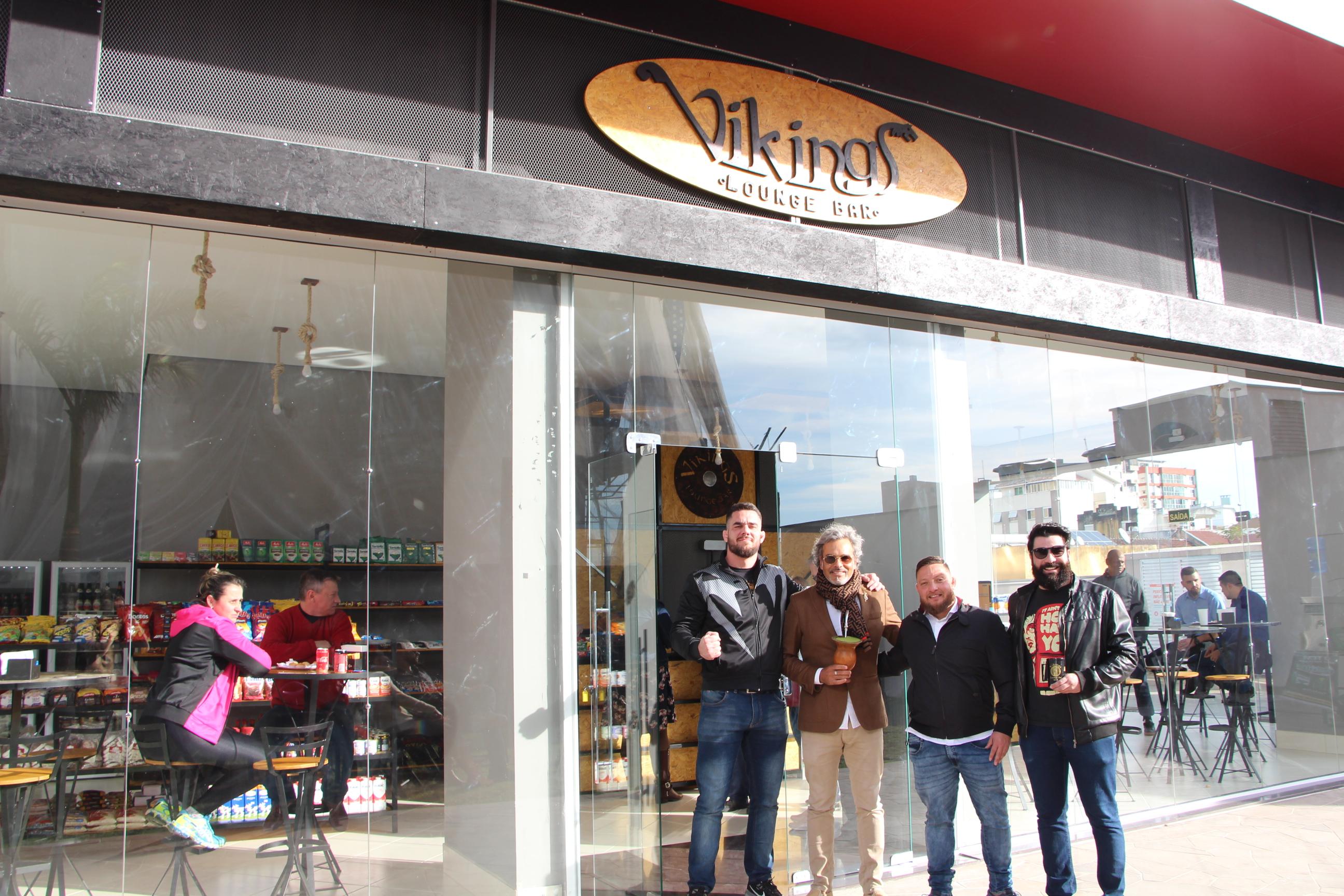 Vikings Lounge Bar é inaugurado no Boulevard do Empreendimento Espírito Santo