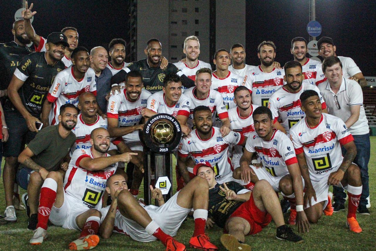 Esporte Clube São Luiz é campeão da Copa Construtora Jobim
