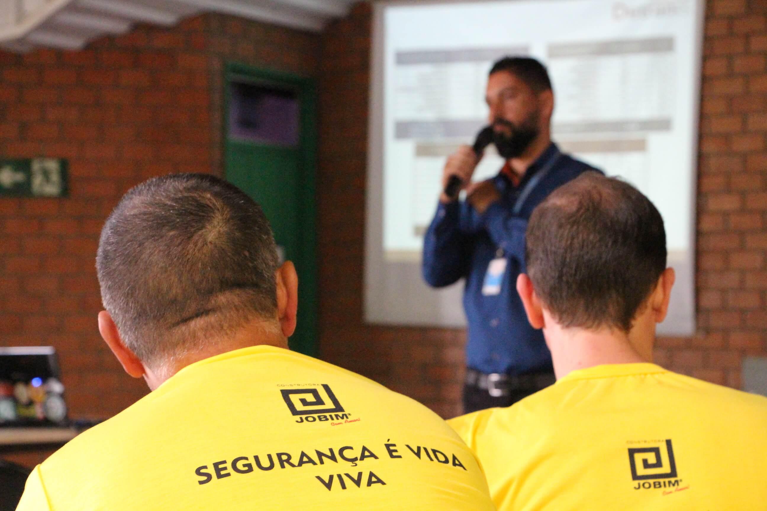 Construtora Jobim realiza a 6ª Semana Interna de Prevenção a Acidentes de Trabalho (Sipat)